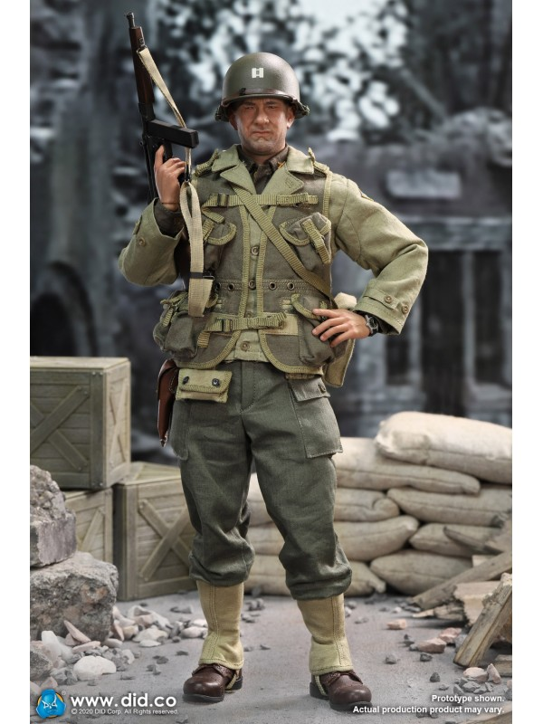 DID A80145 1/6 WWII US 2nd Ranger Battalion Series 3 - Captain Miller