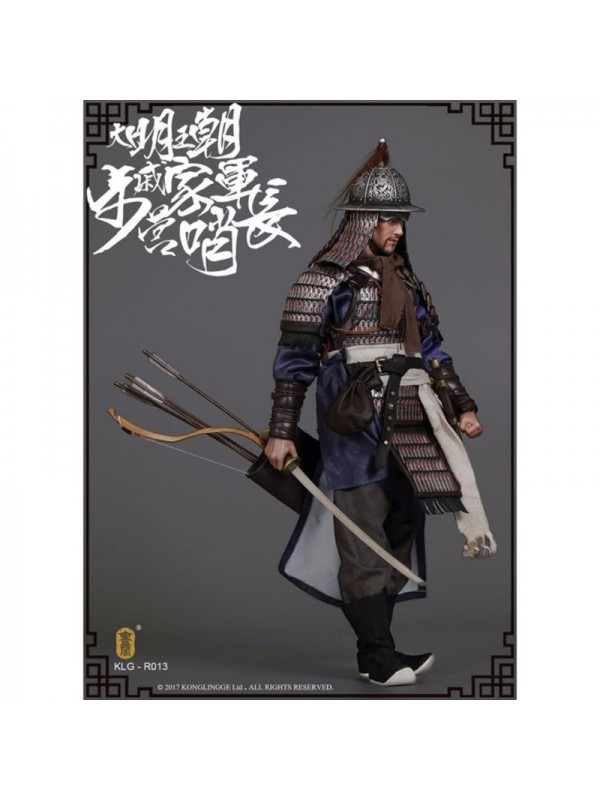 Kong Ling Ge  KLG-R013 1/6 Ming Dynasty Series Qi Jiajun Battalion Commander Double Headed Sculpture