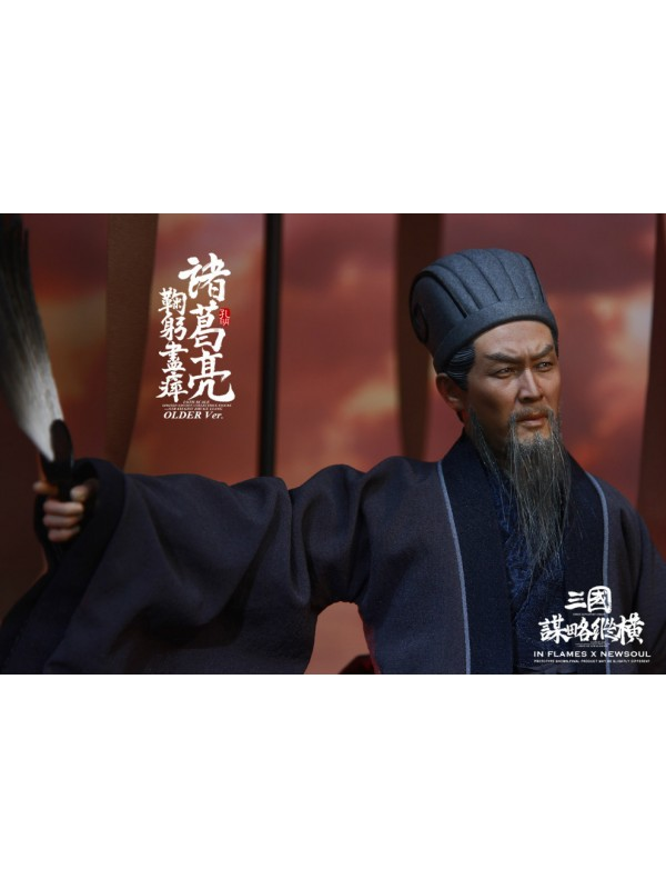 "INFLAMES IFT-041 1/6 ""Zhuge Liang(older ver.),one of the Soul Of There Kingdoms Stratagems series"""