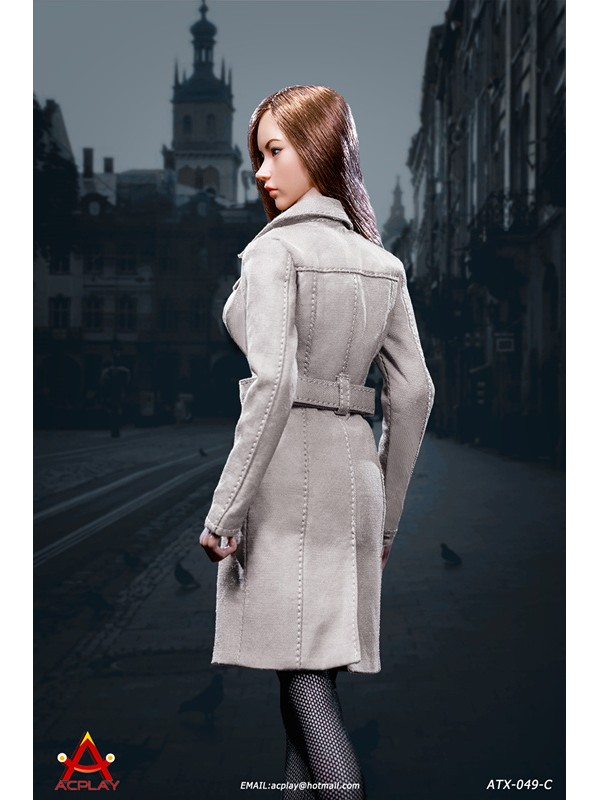(Sold out)ACPLAY ATX049 Female trench coat suit Sand