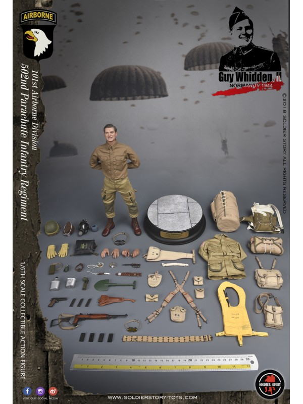"""Soldier Story-SS110- WWII 101ST AIRBORNE DIVISION """"GUY WHIDDEN (HKD$1098)"""