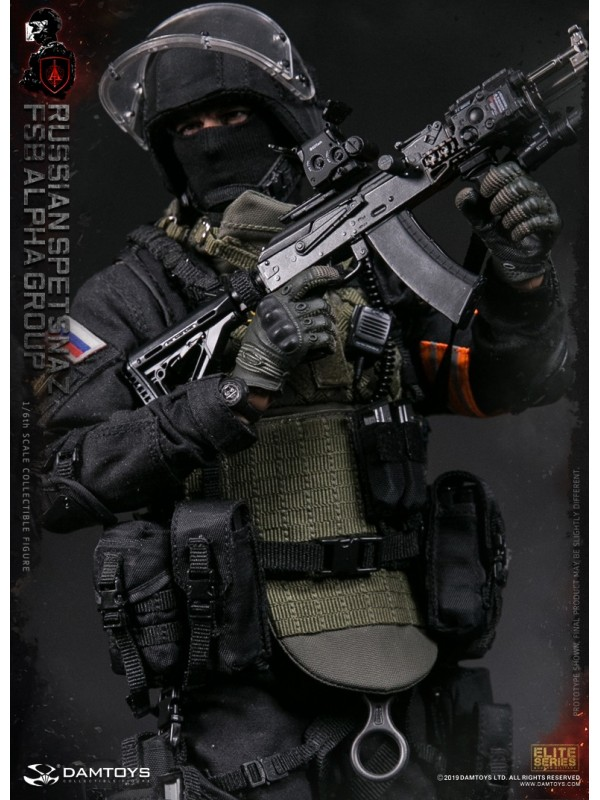 DAMTOYS 78064 1/6 RUSSIAN SPETSNAZ FSB ALPHA GROUP ACTION FIGURE