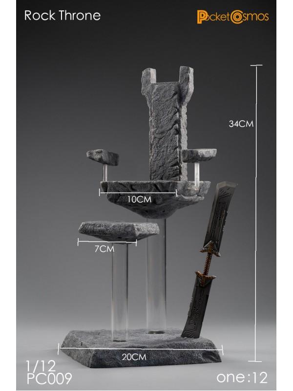 PCTOYS 1/12 PC009 The rock throne