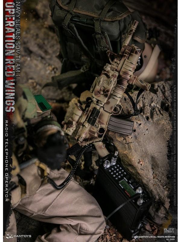 DAMTOYS 78081 1/6 Operation Red Wings NAVY SEALS SDV TEAM 1 Radio Telephone Operator