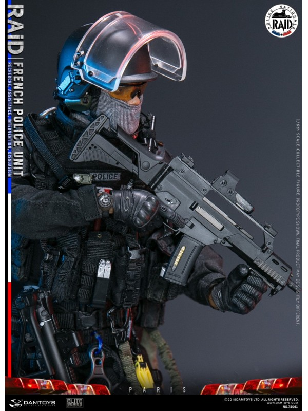 (Sold out)DAMTOYS 78061 1/6 FRENCH POLICE UNIT--- RAID IN PARIS