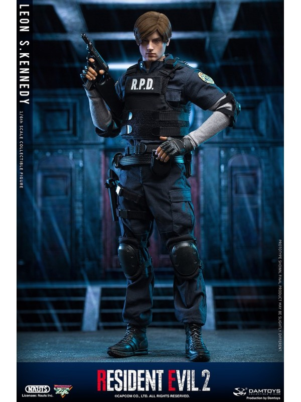 NAUTS x DAMTOYS DMS030 1/6  RESIDENT EVIL 2 1/6th SCALE COLLECTIBLE FIGURE LEON S.KENNEDY