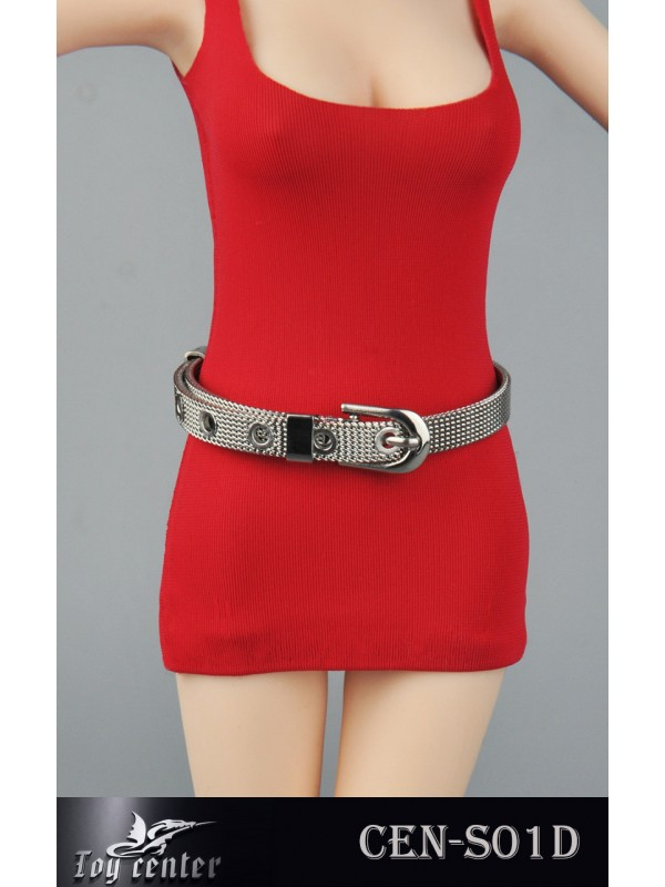 Toy Center  CEN-S01 1/6 Female  Metallic Belt