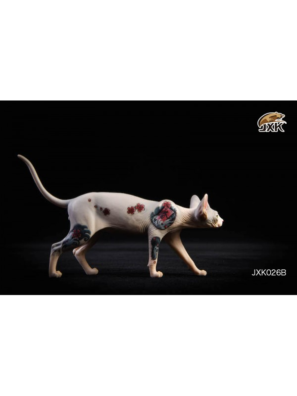 JxK.Studio JxK026 1/6 Tattooed Hairless Cat Sphinx