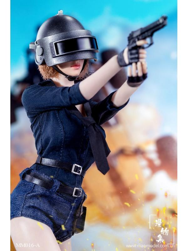 Manmodel MM016 1/6 Chicken Dinner Female Combat Suit