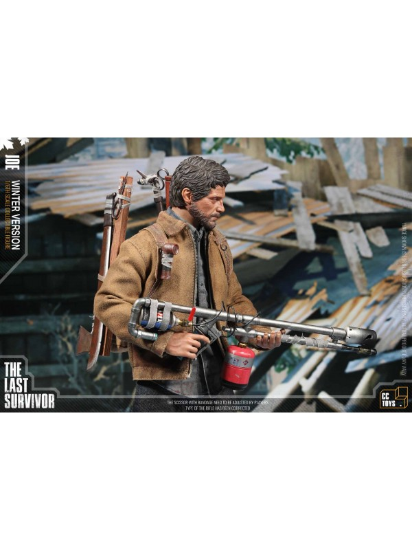 CCTOYS CCT-005《THE LAST SURVIVOR》 JOE & ELLI 1/6 SCALE COLLECTIBLE FIGURE