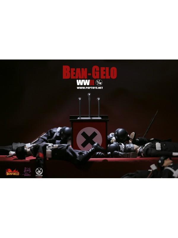 POPTOYS BGS009 1/12 Bean-Gelo Series Part 3 Black SS Skinny