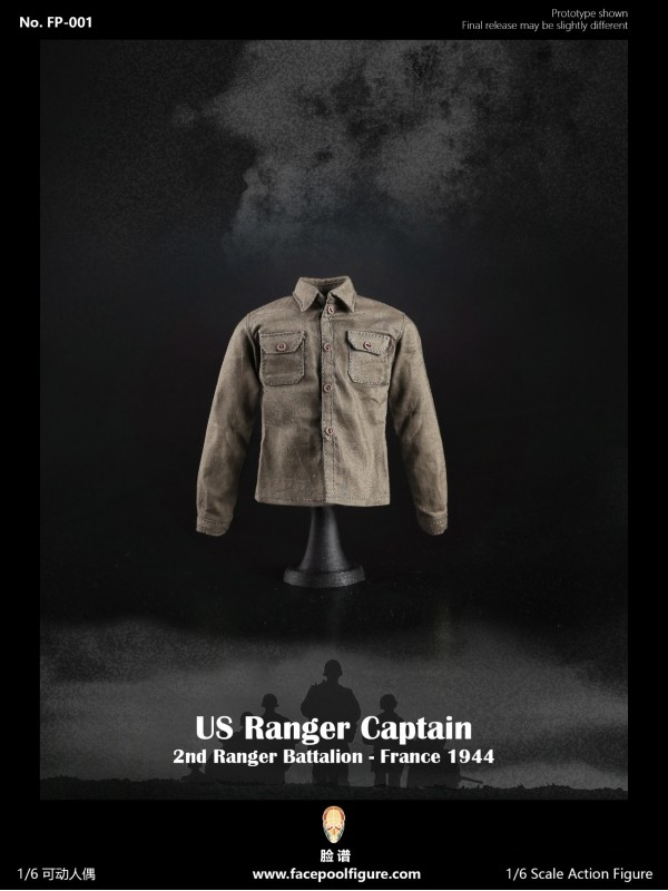 Facepoolfigure FP001 1/6 US Ranger Captain –France 1944