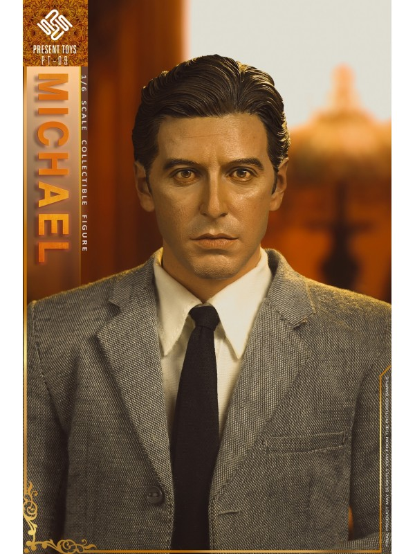 PRESENT TOYS PT-SP09 1/6 collectible toy – The second Mob Boss Michael (Pre-order HKD$788 )