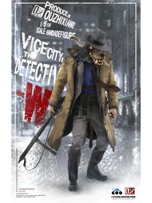 COOMODEL X OUZHIXIANG VC001 1/6 VICE CITY - THE DETECTIVE W (STANDARD EDITION)