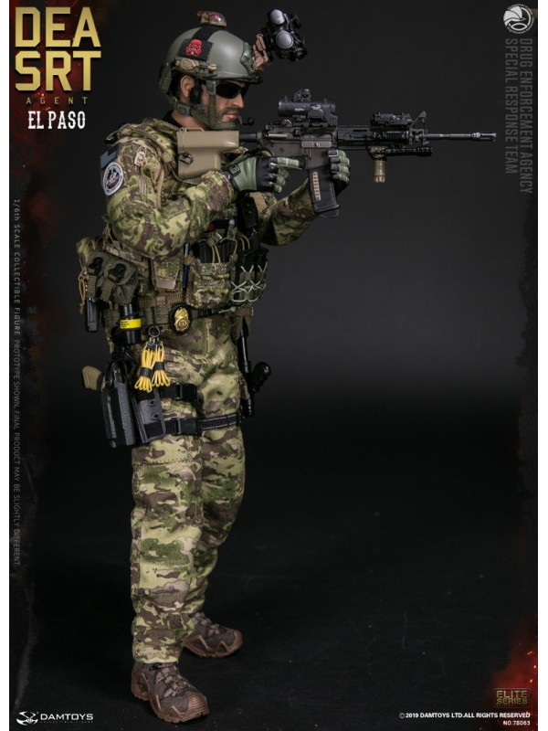 (Sold out)DAMTOYS 78063 1/6 DEA SRT (Special Response Team) AGENT EL PASO