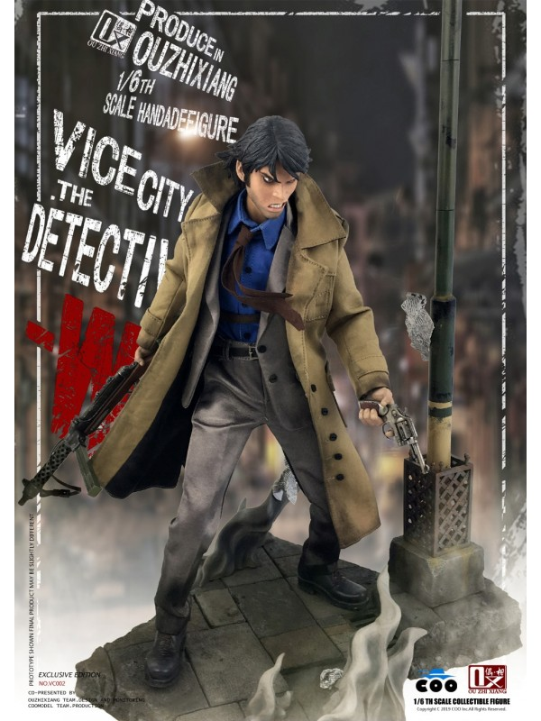 COOMODEL X OUZHIXIANG VC002 1/6 VICE CITY - THE DETECTIVE W (EXCLUSIVE EDITION)
