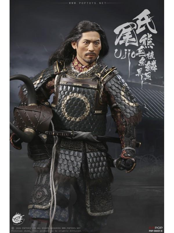POPTOYS EX031-A 1/6 Brave Samurai UJIO Standard100% alloy-made,steel fish scale armor Standard Version (Pre-order HKD$1618 )
