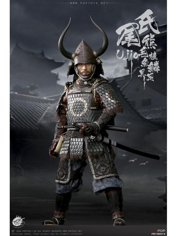 POPTOYS EX031-B 1/6 Brave Samurai UJIO Standard100% alloy-made,steel fish scale armor Deluxe Version (Pre-order HKD$1798 )