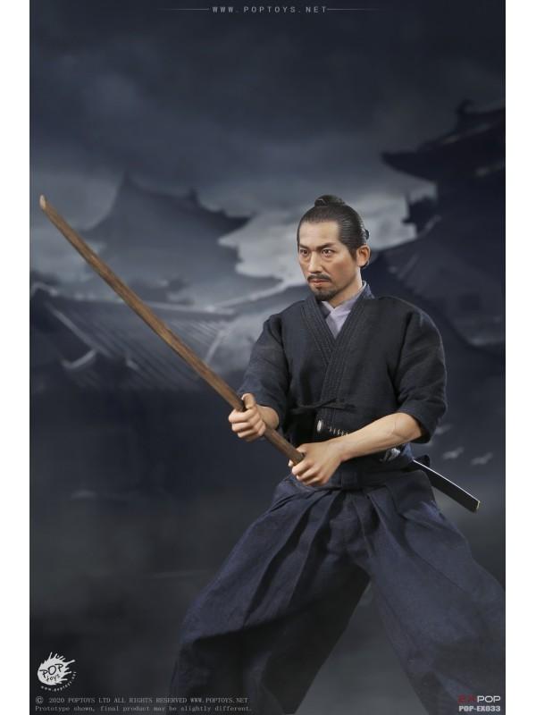 POPTOYS EX033 1/6  Brave samurai-UJIO Kendo version (Pre-order HKD$888 )