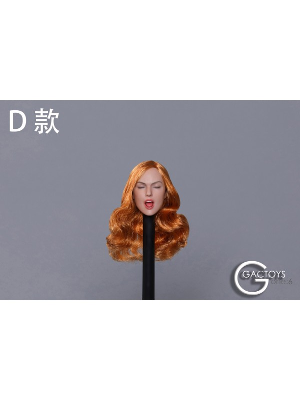 (Sold out)GACTOYS GC025 1/6 Sexy Expression Female Headscult 5 Style