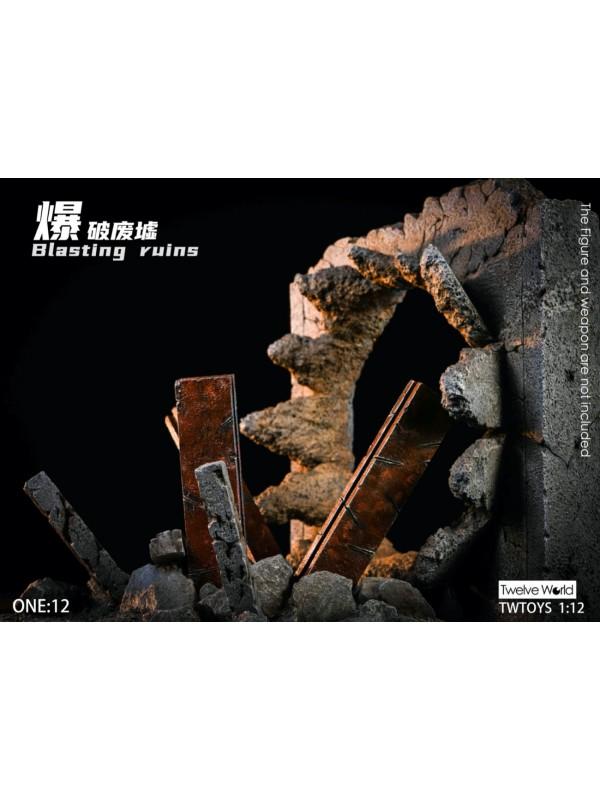 TWTOYS TW2029C 1/12 Blasting Ruins