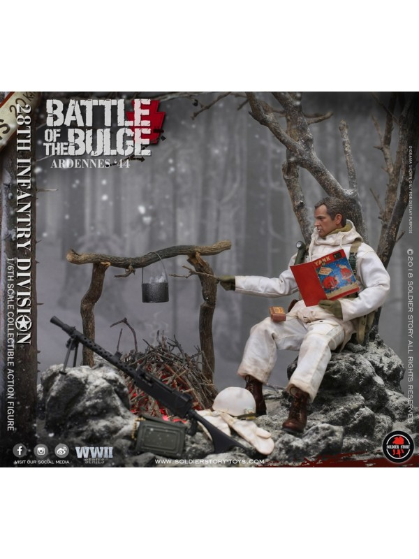 SoldierStory-SS111-U.S. Army 28th Infantry Division Ardennes 1944 (HKD$998)