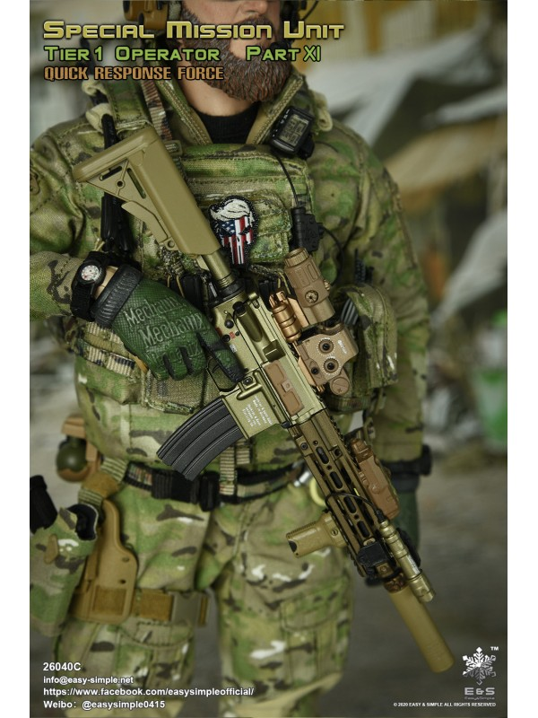 Easy&Simple 26040C SMU Tier 1 Operator Part XI Quick Response Force  (Pre-order HKD$1098 )