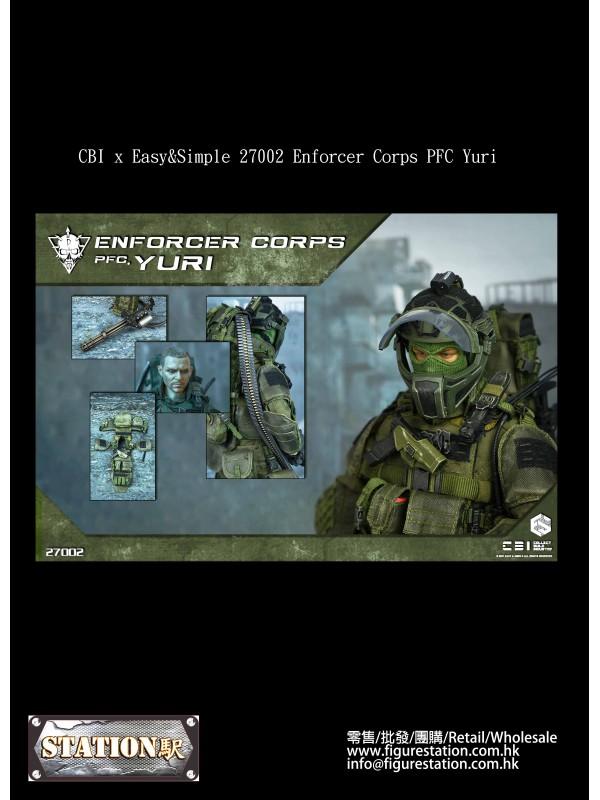 CBI x Easy&Simple 27002 Enforcer Corps PFC Yur...