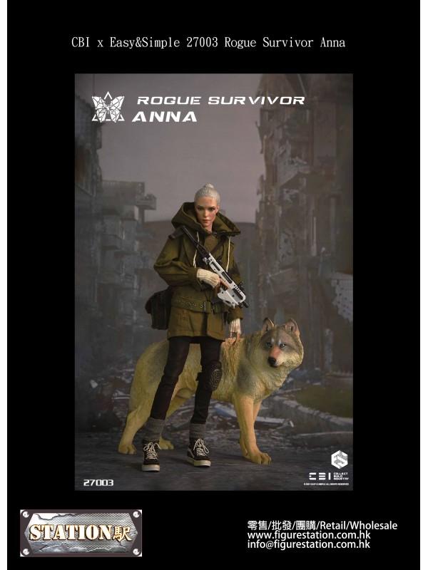 CBI x Easy&Simple 27003 1/6 Rogue Survivor Ann...