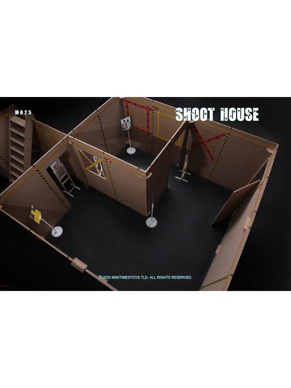 Mini Time MT-M025 1/6 Scene SWAT Police Shoot House