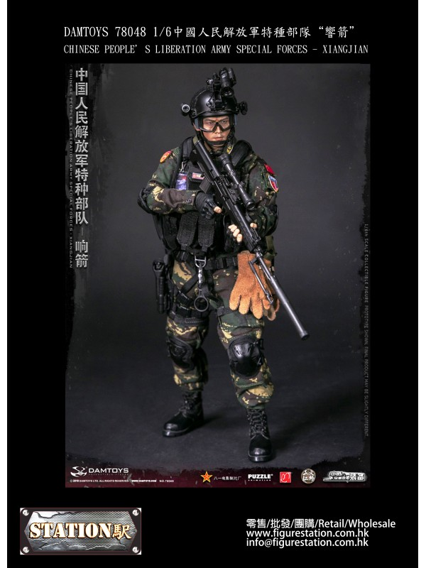(IN STOCK) DAMTOYS 78048 1/6 CHINESE PEOPLE'S LI...