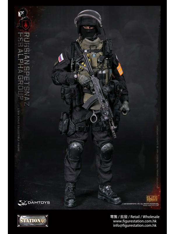 DAMTOYS 78064 1/6 RUSSIAN SPETSNAZ FSB ALPHA GROUP...