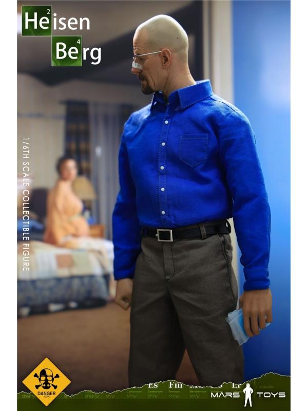 Mars Toys MAT001 1/6 Heisenberg Old White (Pre-order HKD$718 )