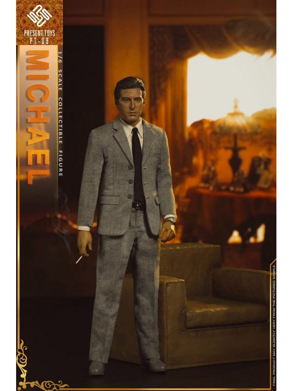 PRESENT TOYS PT-SP09 1/6 collectible toy – The second Mob Boss Michael