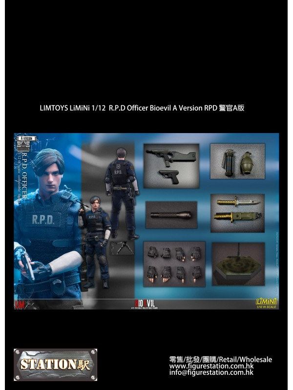 LIMTOYS LiMiNi 1/12 R.P.D Officer Bioevil A Version