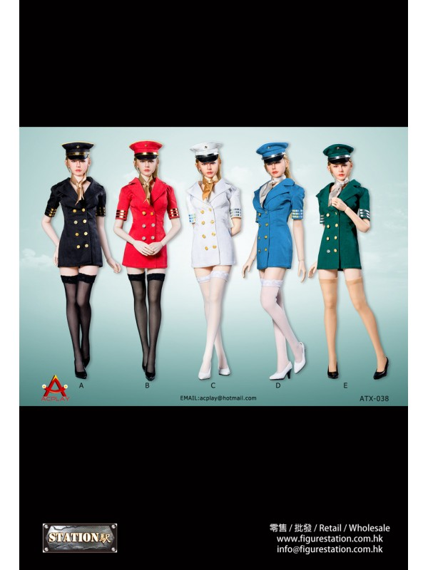 ACPLAY 1/6 ATX038 Flight attendant dress/Four colo...