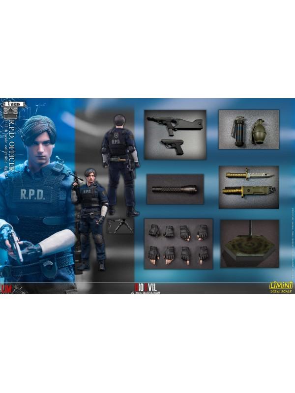 LIMTOYS LiMiNi 1/12 R.P.D Officer Bioevil A Version