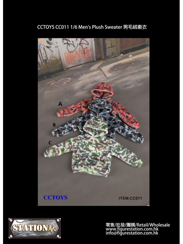 CCTOYS CC011 1/6 Men's Plush Sweater (Pre-order HK...