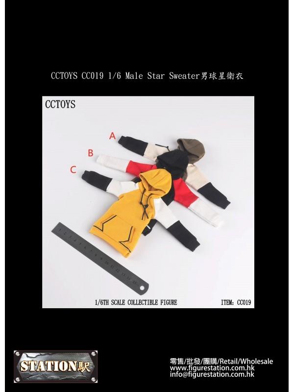 CCTOYS CC019 1/6 Male Star Sweater (Pre-order HKD$...