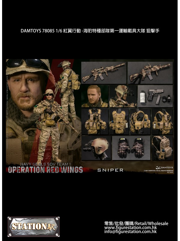 DAMTOYS 78085 1/6 Operation Red Wings - NAVYSEALS ...