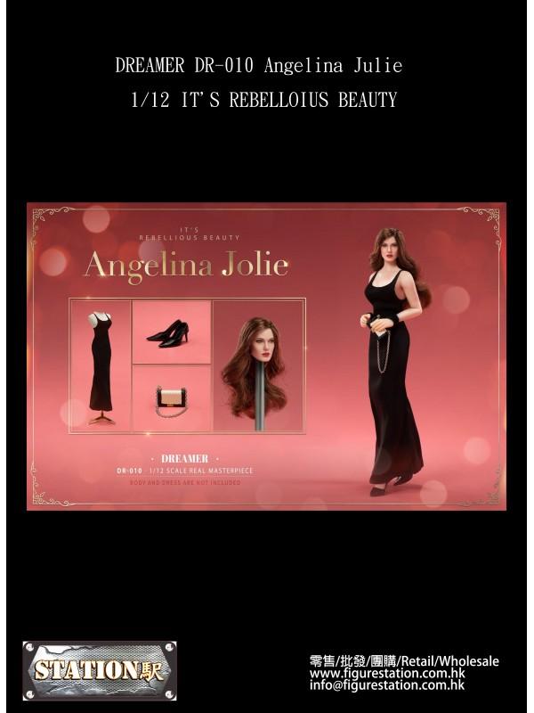 (PRE-ORDER) DREAMER DR-010 Angelina Julie 1/12 IT'S REBELLOIUS BEAUTY (Pre-order HKD$ 348)
