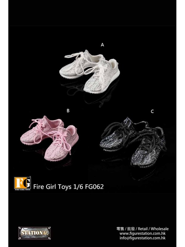 Fire Girl Toys FG062 1/6 Women's Hollow Casual Sho...