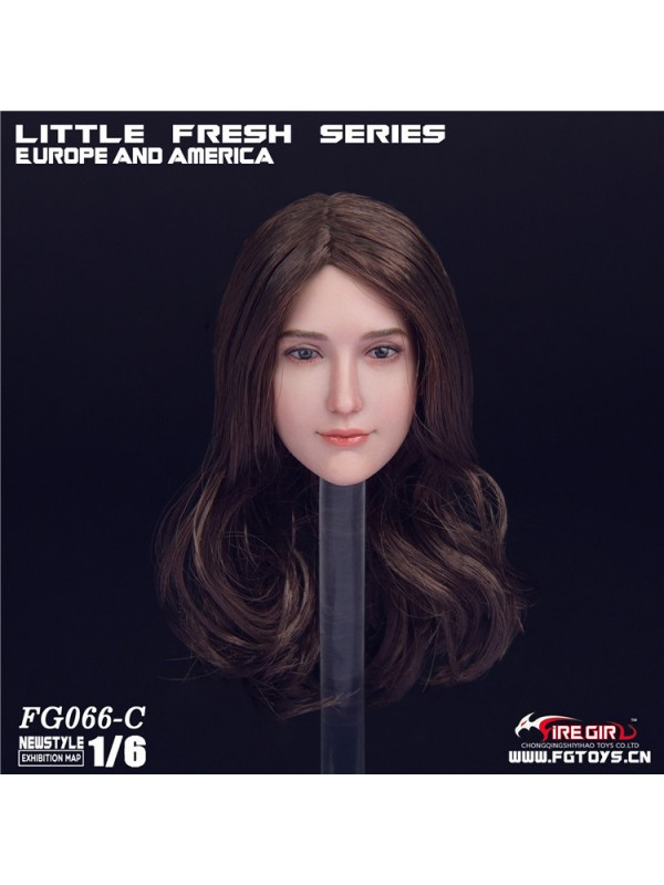 Fire Girl Toys 1/6 FG066 Fashion windbre headsculpt (Four hair styles)