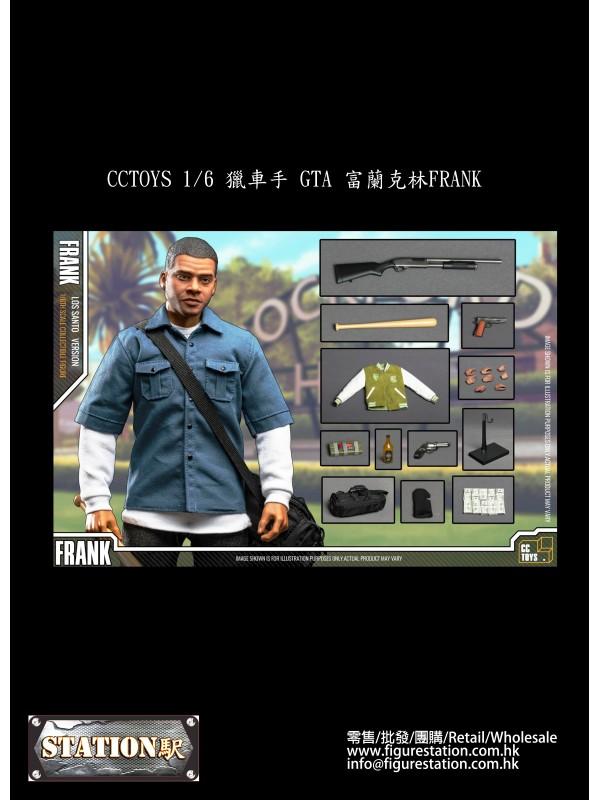 CCTOYS 1/6 GTA FRANK (Pre-order HKD$1128 )