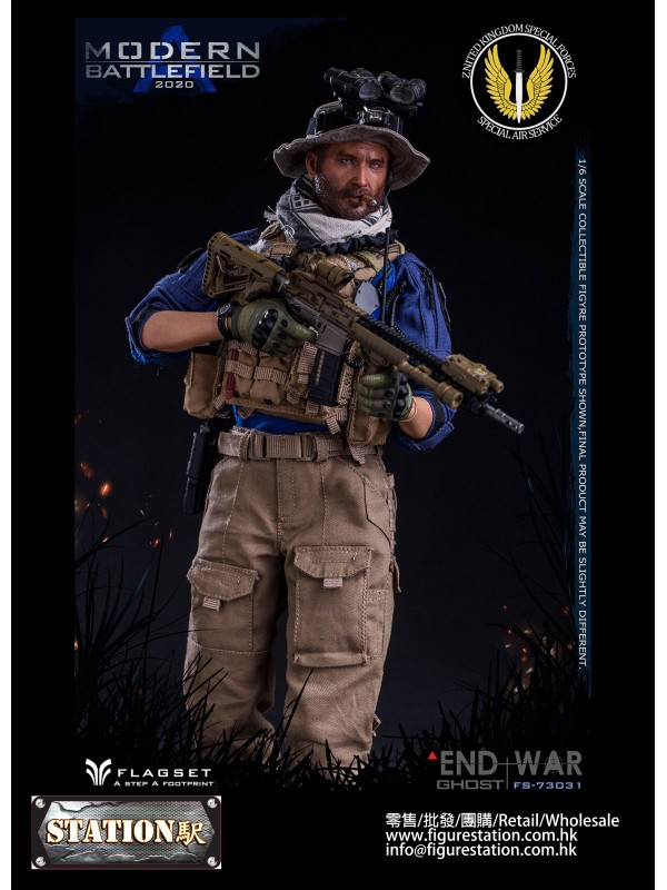 FLAGSET FS-73031 1/6 END WAR Ghost Modern Battlefi...