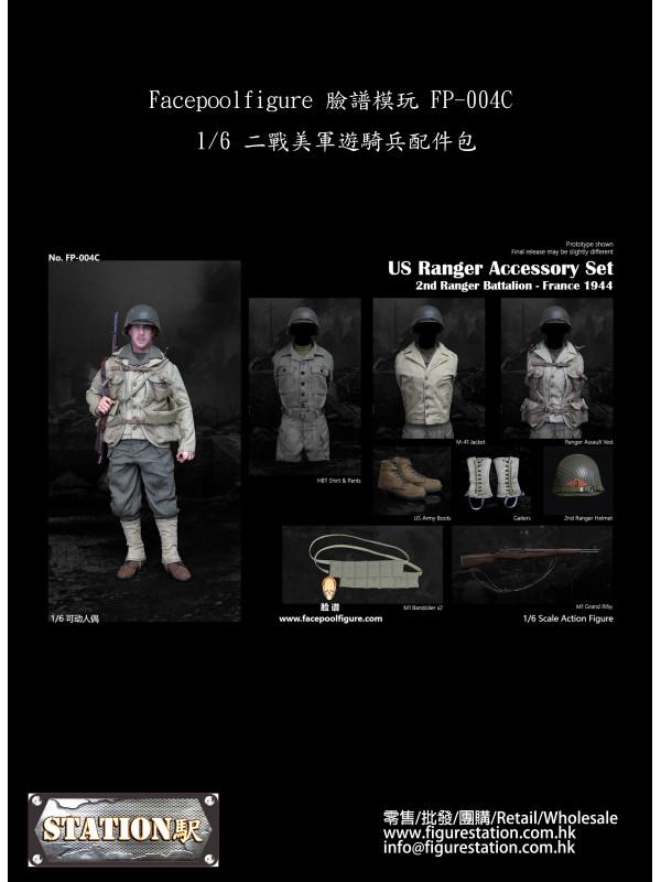 (PRE-ORDER) Facepoolfigure FP-004C 1/6 US Ranger Accessory Set (Pre-order HKD$ 518)