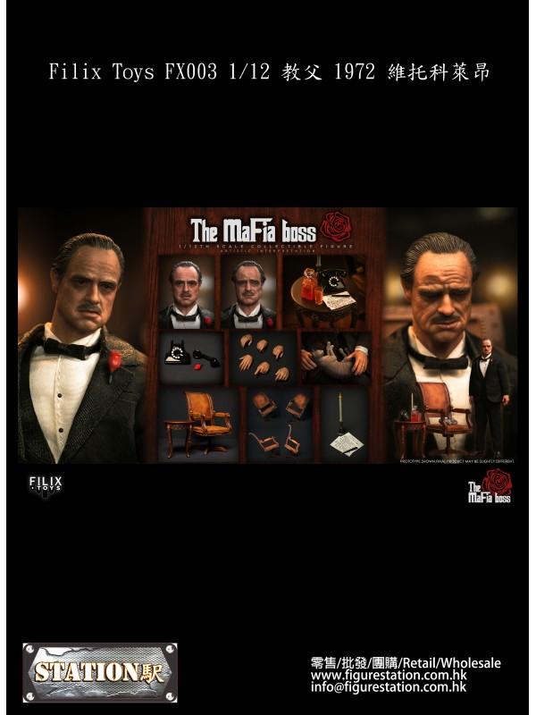 (PRE-ORDER) Filix Toys FX003 1/12 The Mafia Boss (Pre-order HKD$ 698)