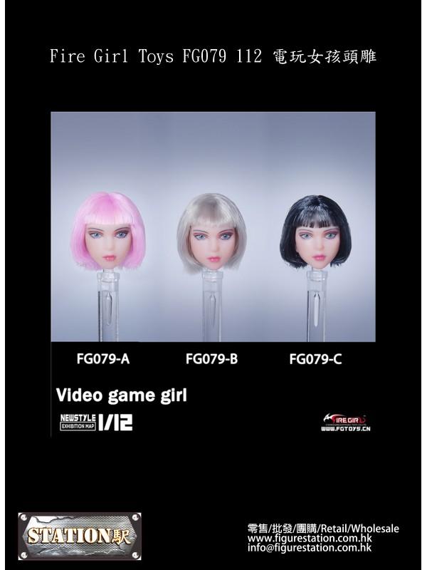 (PRE-ORDER) Fire Girl Toys FG079 1/12 Video game girl (Tricolor) (Pre-order HKD$ 188)