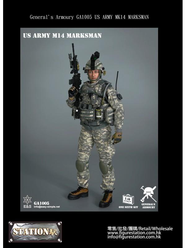 General's Armoury GA1005 US ARMY MK14 MARKSMAN (Pr...