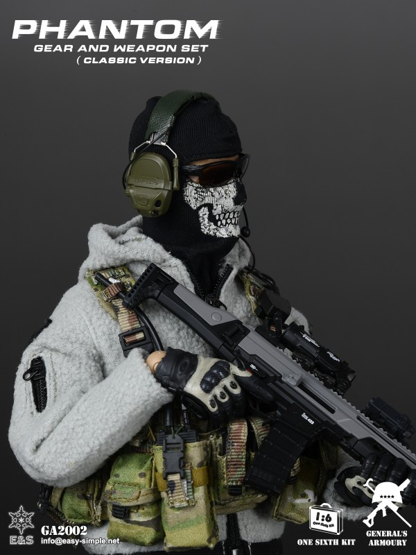 General's Armoury GA2002 Phantom Gear And Weapon Set (Classic Version)